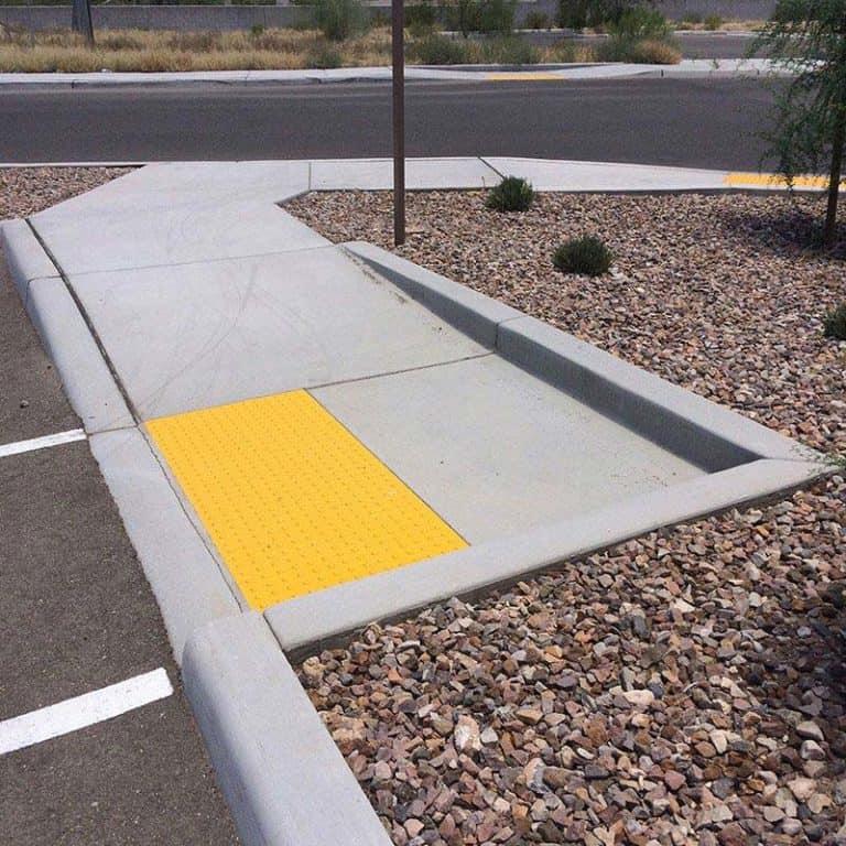 Doulos Concrete handicap ramp