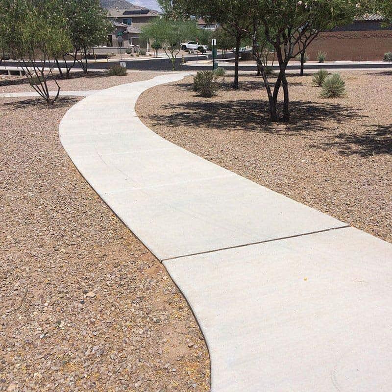 Doulos Concrete Meandering Sidewalk